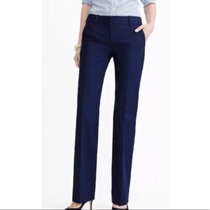 J. Crew Favorite Fit Wool Navy Pants Size 2